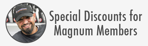 Special discounts for magnum members